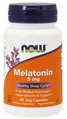 Now Foods, MELATONIN, 5mg, 60 Kaps. BESTPREIS !!!