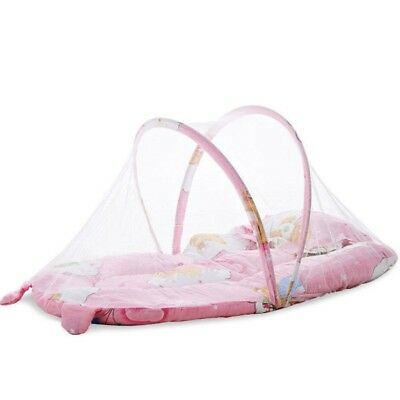 Cartoon Baby Crib Cunas Bed 0-1 Year Infant Portable Folding With Net Travel Bed