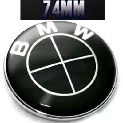 bmw emblem 82mm echtes carbon 1er 3er 5er 6er 7er wappen. Black Bedroom Furniture Sets. Home Design Ideas