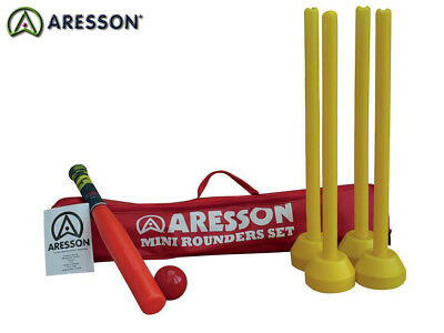 Brand New Aresson - Mini Rounders Set - Red Bag