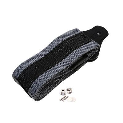 Guitar Strap with 3 Pick Plectrums Holder & 2pcs Strap Lock for Guitar Parts
