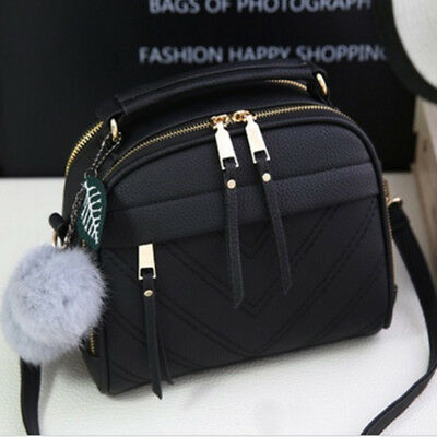 Women Lady Messenger Spring/Summer Inclined Shoulder Bag PU Leather Handbag