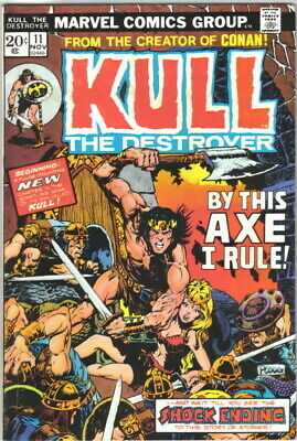 Kull The Conqueror Comic Book #11 Marvel Comics 1973 VERY FINE+