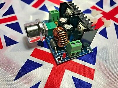 ⭐ DC Buck Converter Voltage Regulator, DC 4-40V to 1.25-36V 8A Step Down 200W ⭐