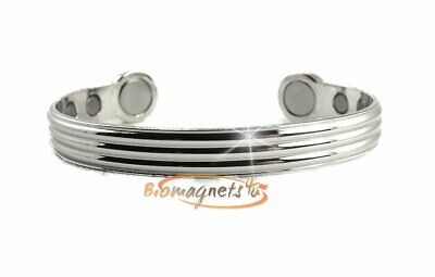 Mens Superb Magnetic Therapy Bio Healing Bracelet-Arthritis Pain Relief -Large
