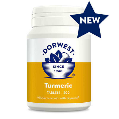 Dorwest Turmeric Tablets x 200, Premium Service, Fast Dispatch