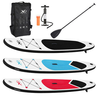 Paddle Board 10ft Sports Surf Inflatable Stand Up Water Racing SUP Bag Pump Oar