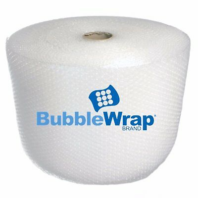 """New BUBBLE WRAP Brand 3/16""""- 700 ft x 12"""" perforated every 12"""" MADE IN U.S.A US"""