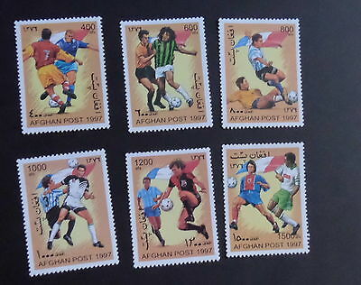 Afghanistan 1997 World Cup Football Championships  MNH UM unmounted mint