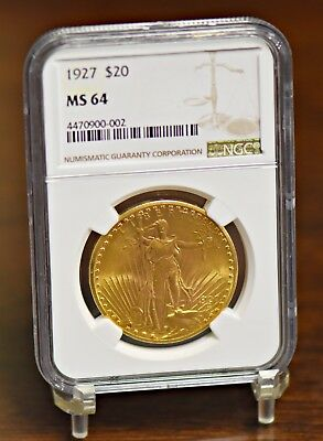 1927 $20 St. Gaudens Gold Double Eagle - NGC MS64 (#11619)