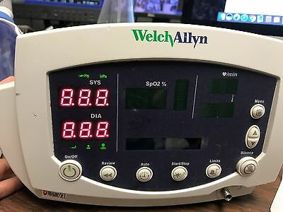 Welch Allyn VSM Vital Signs Monitor SpO2 BP Temp 53ST0