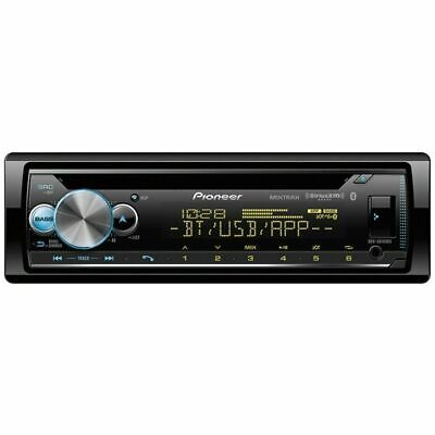 Pioneer 1-DIN CD Player Receiver with Bluetooth USB Aux DEH-S6100BS