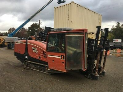 2011 Dich Witch Jt3020M1 Directional Drill-2,354 Low Hours-A/c Cab-Drill Ready!