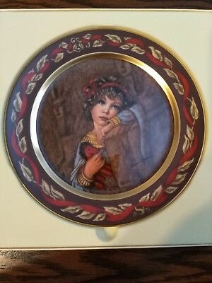 'Cleopatra' Let's Pretend Series Pickard Collector's Plate, Free Shipping!