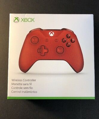Microsoft XBOX ONE Wireless Controller [ RED Edition ] NEW
