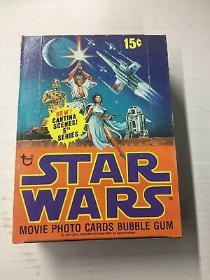 Vintage Topps Cards (1978) STAR WARS Series 5, Unopened Full Box, NICE Shape