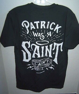 NEW Dark Green TULLAMORE DEW T-SHIRT IRISH WHISKEY St Patrick Saint I Ain't