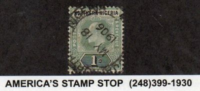 Northern Nigeria SC 25 | SG 26 - May 18 1906 CDS - Used*