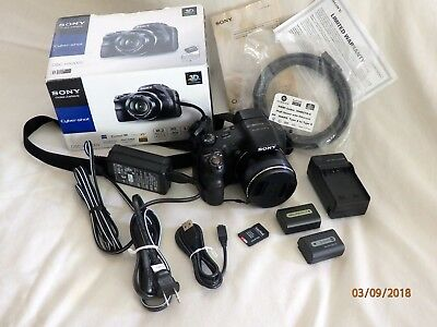 Sony Cyber-shot DSC-HX200V 18.2MP Digital Camera - Black