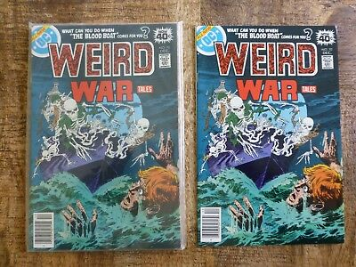 Weird War Tales #70 (Dec 1978, DC) NM 9.0 condition 5 available