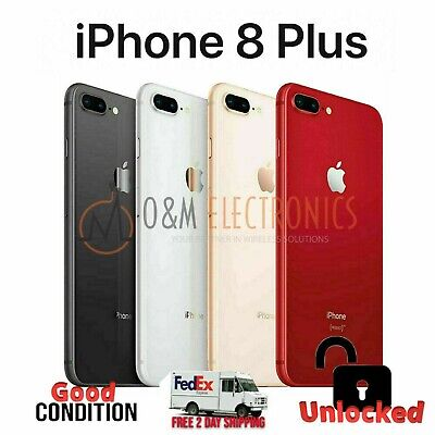 NEW Other Apple iPhone 8 Plus 256GB (A1897, Factory Unlocked) - All Colors