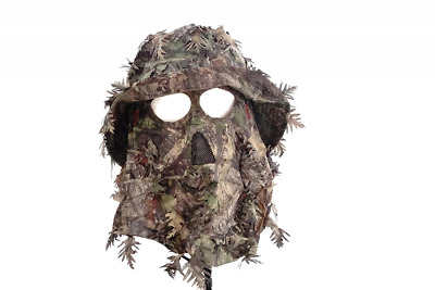 Mossy Oak Obsession Camouflage 3D Leafy Bucket Hat with Hunting Face Mask  Combin 81051aa796b1