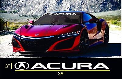 ACURA WINDSHIELD VINYL Decal Sticker Emblem Logo Graphic TL CL RXS - Acura tl decals
