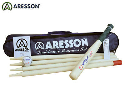 Brand New Aresson - Traditional Rounders Set - Black Bag
