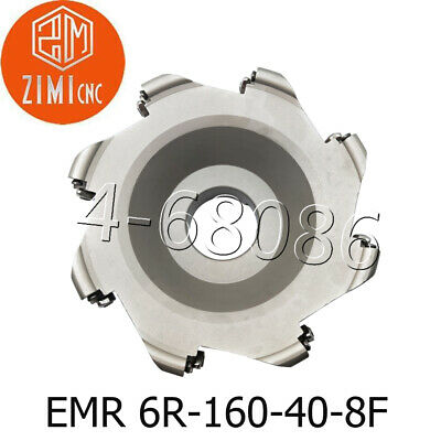 "EMR 6R-160-40-8F 160mm 6"" round indexable face milling cutter for RPMT1204"
