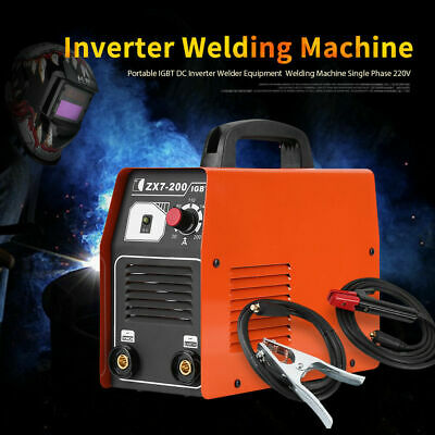 IGBT ZX7-200 DC INVERTER MMA ARC WELDING WELDER Equipment SOLDERING MACHINE 220V