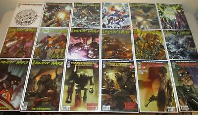 BOX of Transformers Comics  ~Lot of 50 Comics~   IDW, DW, GI Joe  ~Great Mix~