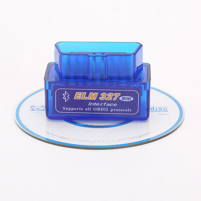 ELM327 V1.5 Bluetooth OBD2 For Android/Torque Super Diagnostic Code Reader CE#