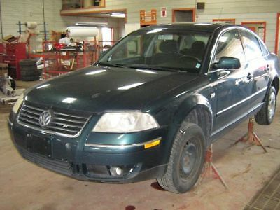 VW PASSAT 2002 MANUAL TRANSMISSION 5 speed 1.8L turbo gas FWD