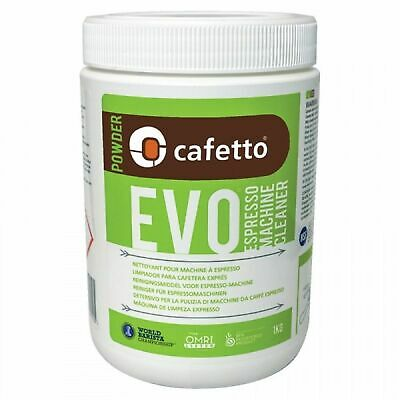 NEW CAFETTO EVO ECO ESPRESSO MACHINE CLEANER Organic Coffee Cleaning Powder