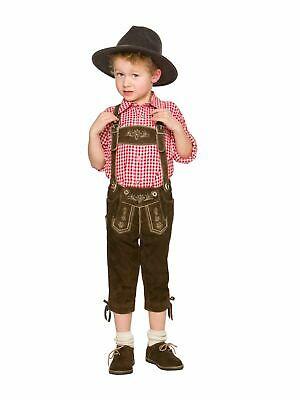 Stockerpoint Kids Leather Pants Knee-Breeches P-300 Rustic Antique
