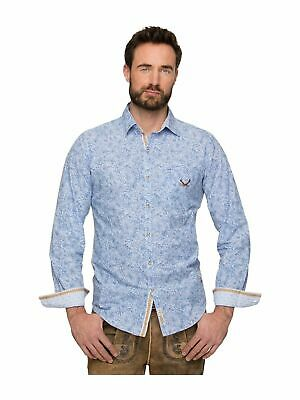 Stockerpoint Traditional Shirt James Blue
