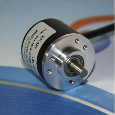 600P/R 5V-24V Photoelectric Incremental Rotary Encoder AB 2 Phase Shaft+Coupling