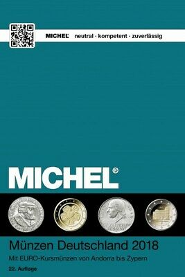 Michel Coins Catalog Germany 2018 in Color