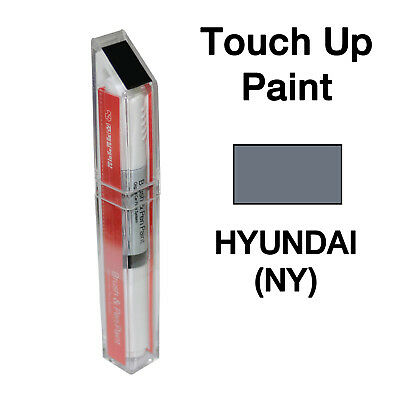Touch up Repair Scratch Brush /& Pen Paint for Hyundai Slick Silver WEA