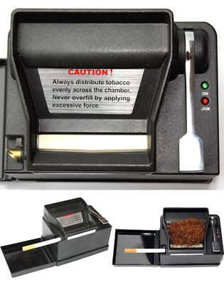 Improved 2 PLUS Electric Cigarette Rolling Machine Makes Regular Sized & 100mm