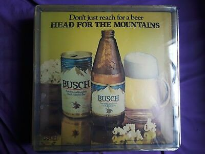 anheuser busch collectors club, signs, oldie but goodie, 1960, st. Louis Missour
