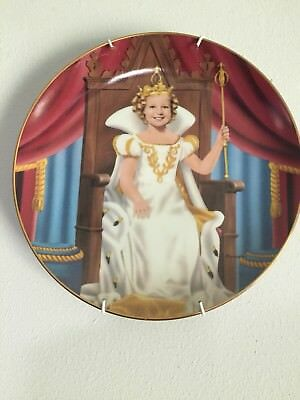 SHIRLEY TEMPLE PLATE COLLECTION BY DANBURY MINT 1990 COMPLETE SET &Plate holders