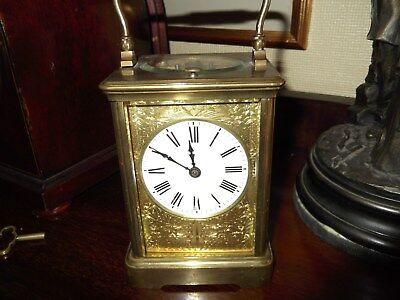 Lovely Antique Carriage Clock strike repeat