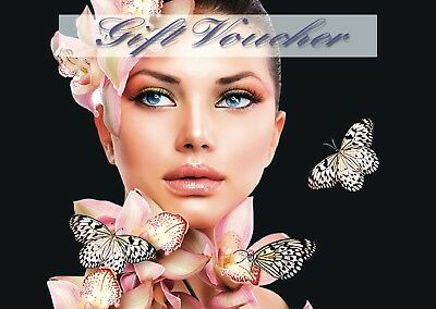Blank Beauty Salon Gift Certificate/voucher  x15 for price of 10 promo deal