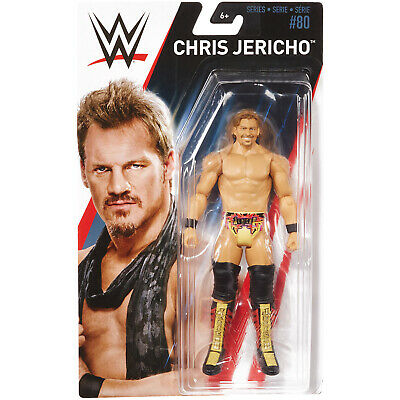Chris Jericho Figur - WWE Series 80 - Basis - Basic - Mattel - Wrestling