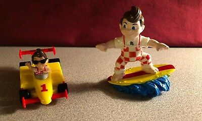 "1990 Elias Brothers ""Big Boy"" Toys  Lot of 2"