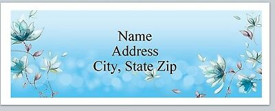 P 593 Personalized Address Labels Ribbon Flowers Lace Buy 3 get 1 free