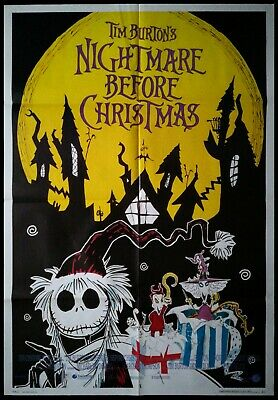 Nightmare Before Christmas Movie Poster