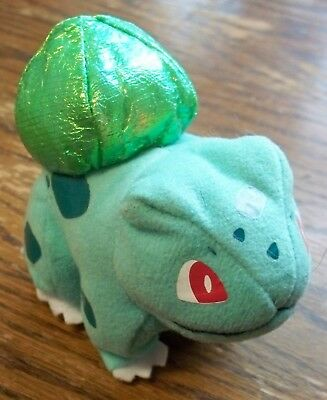 Pokemon Bulbasaur Beanbag Toy 3.5 Inches Applause 1998 in Great Condition
