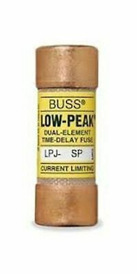 Bussmann LPJ-50SP (LPJ50SP), Fuse 50A 600V Time Delay Class J Dual Element